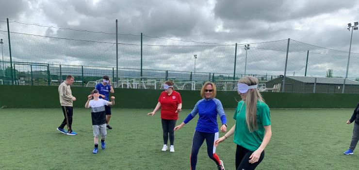 Cork City Womens FC's Shaunagh McCarthy at launch of CCFC and LakeBlind Vision impaired Football - 29 May 21.jpg