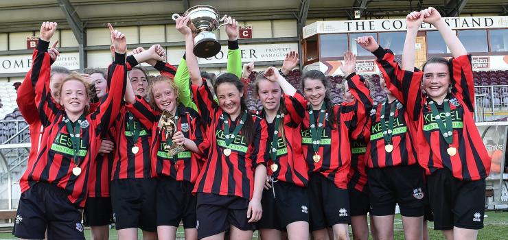 Cregmore Claregalway win FAI WU14 Cup.png