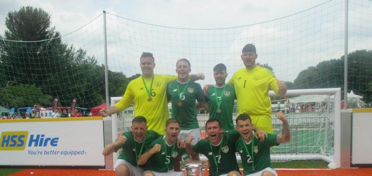 Ireland Homeless Team Cup Win