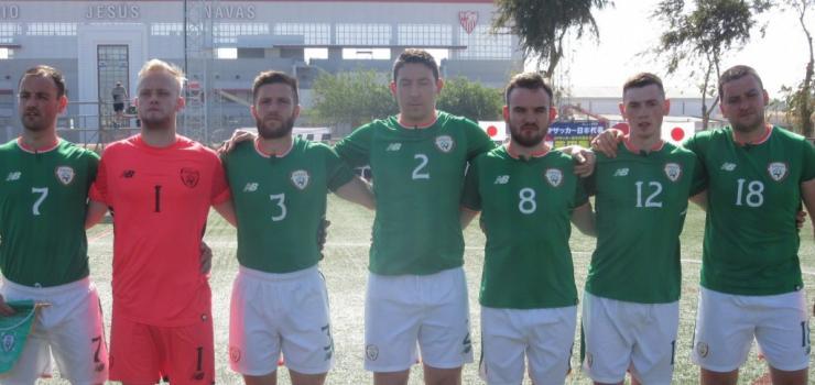 Ireland CP v Japan