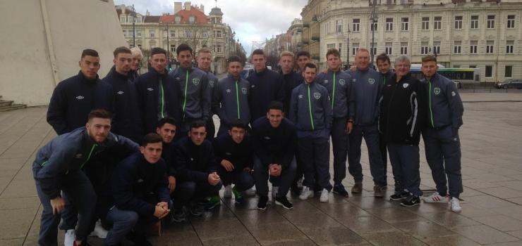 Ireland U21s in Vilnius.JPG