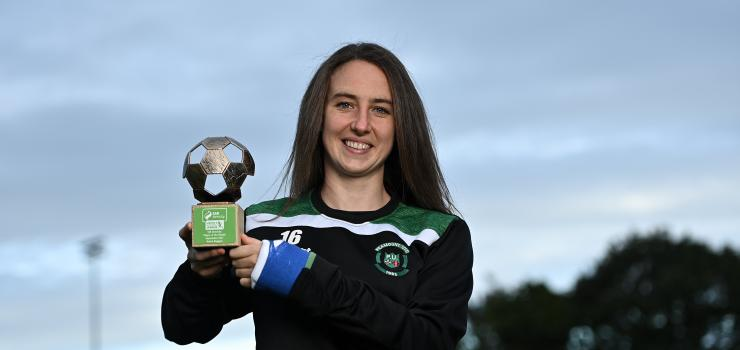Karen Duggan of  Peamount United FC has been named SSE Airtricity Women's National League Player of the Month for September(i).jpg