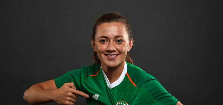 Katie McCabe Italy pre-match.jpg