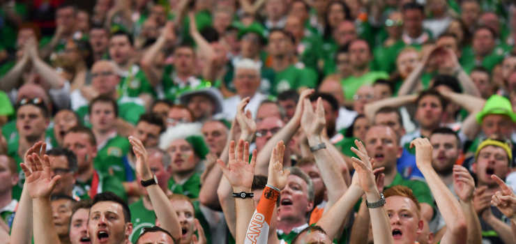 Ireland Supporters Lille