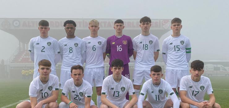 Ireland u16 v Tanzania