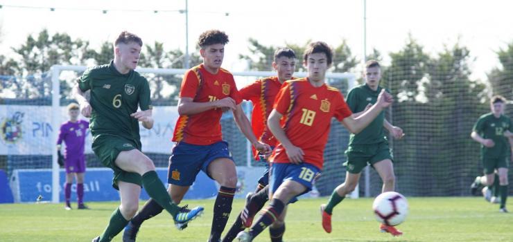 Ireland U15 v Spain U15