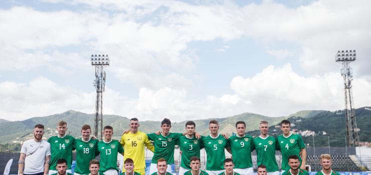 Ireland CU squad versus France