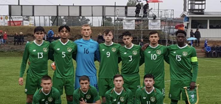 Ireland U18 v Norway